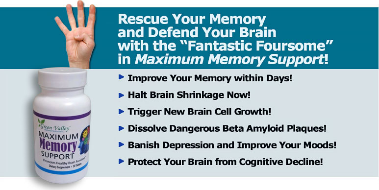 Start Improving Your Memory and. Cognitive Function TODAY with the