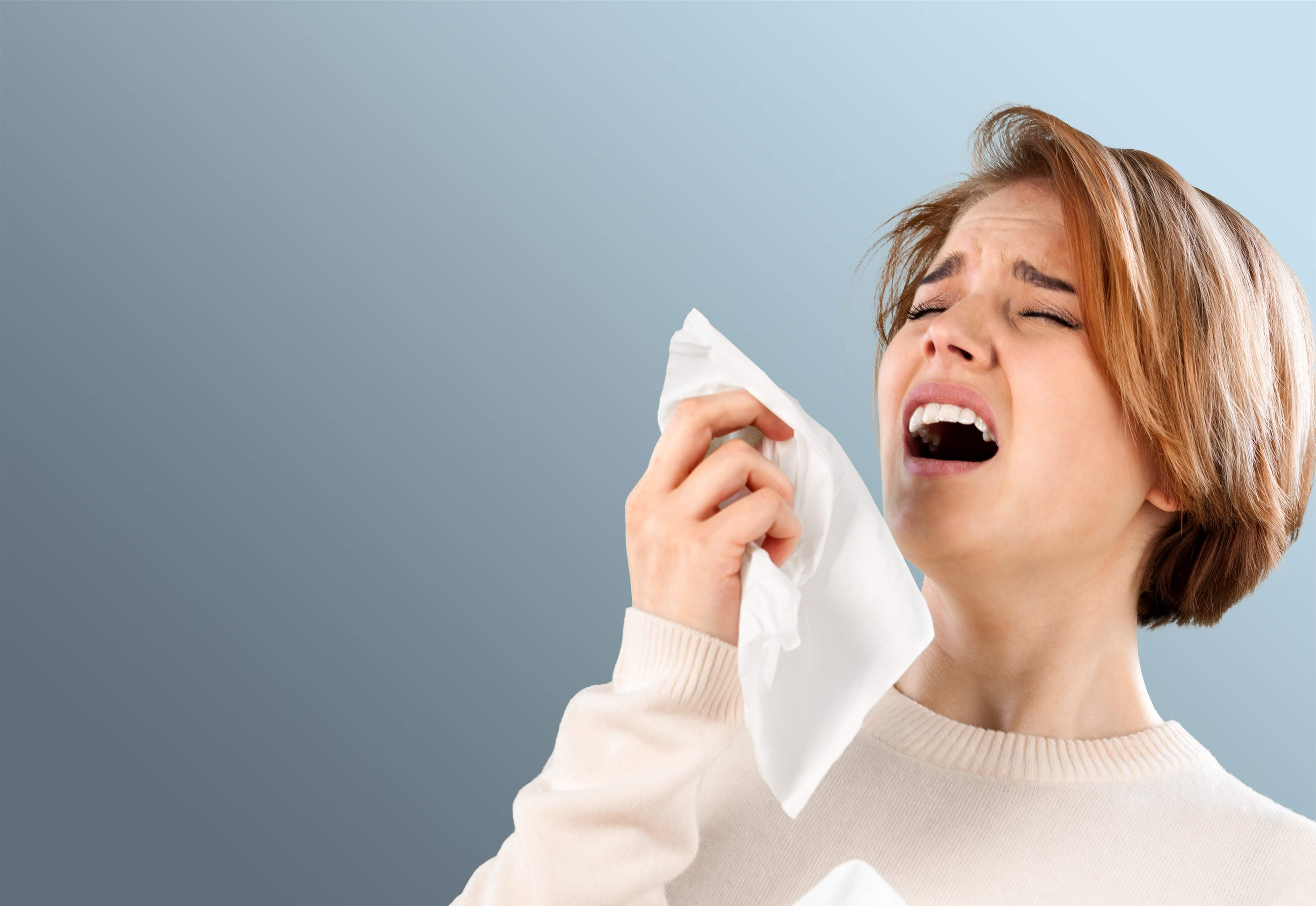 how to stop hay fever runny nose naturally